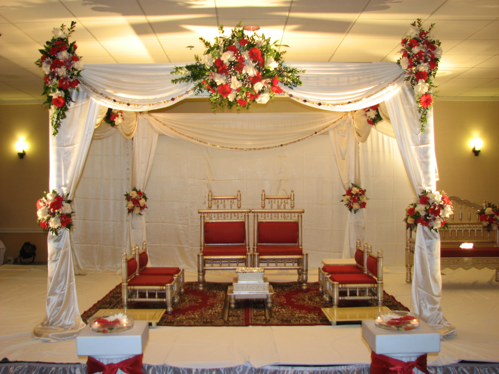 Krushna mandap for House decoration images