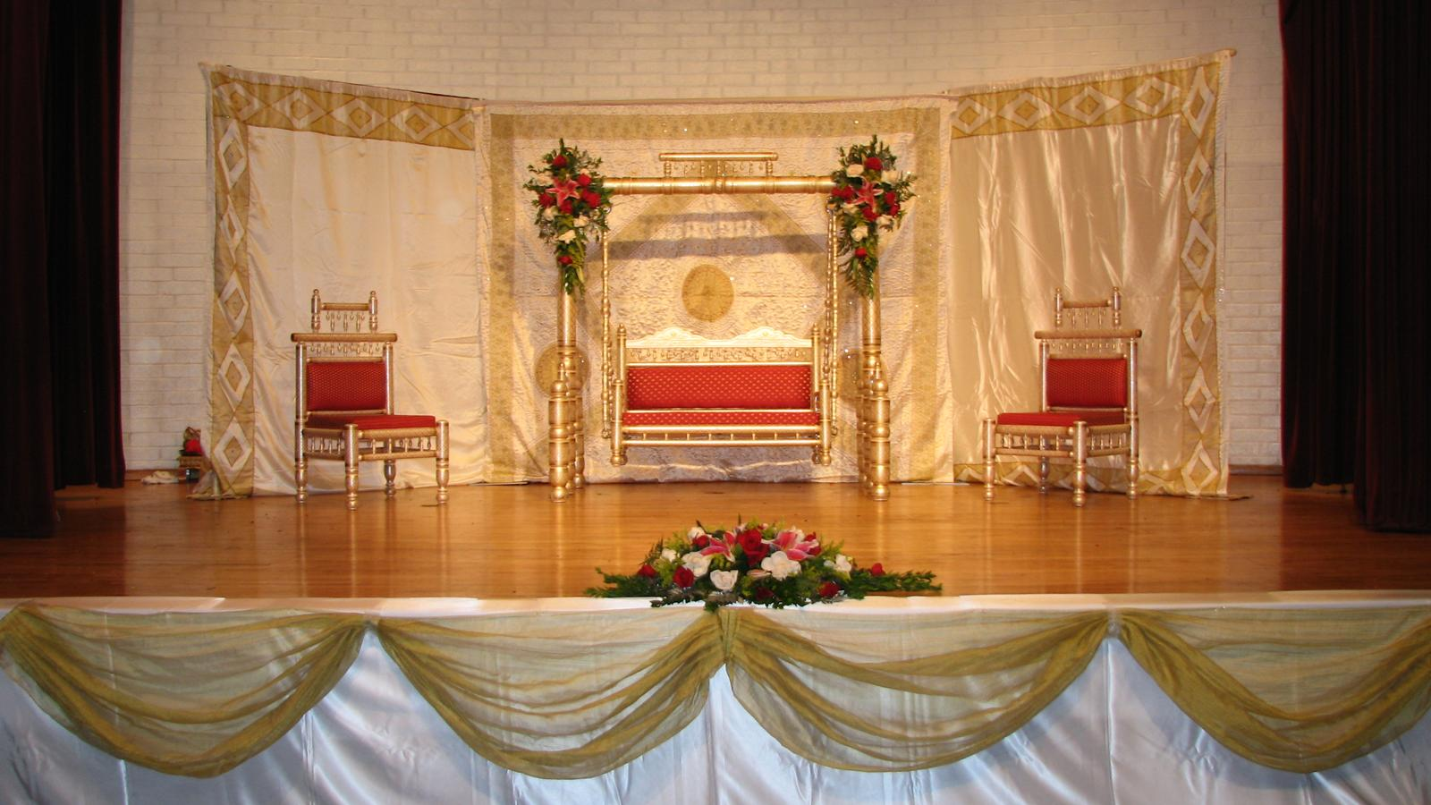 Krushna mandap for Arangetram stage decoration ideas